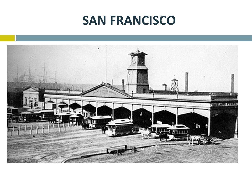 San francisco Na příkladu San Francisca je dobře vidět náročnost provozu, V roce 1880 žilo v San Franciscu cca 230 000 obyvatel,