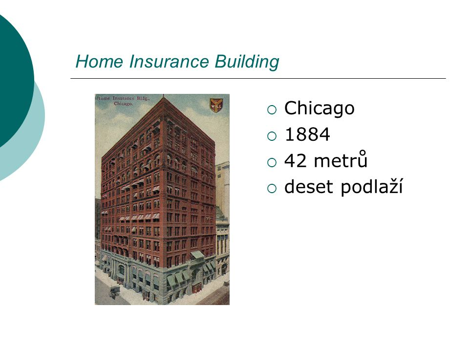 Home Insurance Building
