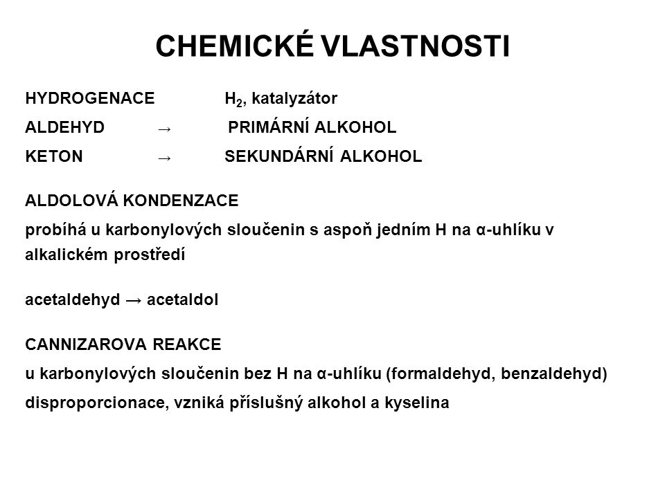 CHEMICKÉ VLASTNOSTI HYDROGENACE H2, katalyzátor