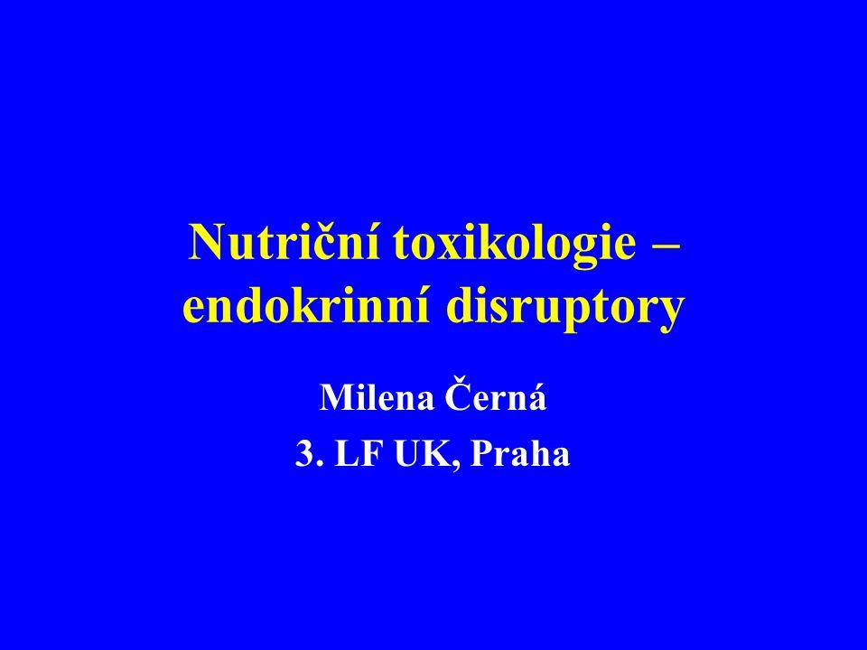 Nutriční toxikologie – endokrinní disruptory
