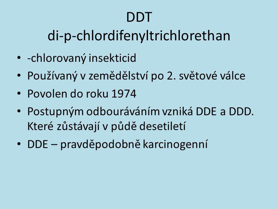 DDT di-p-chlordifenyltrichlorethan