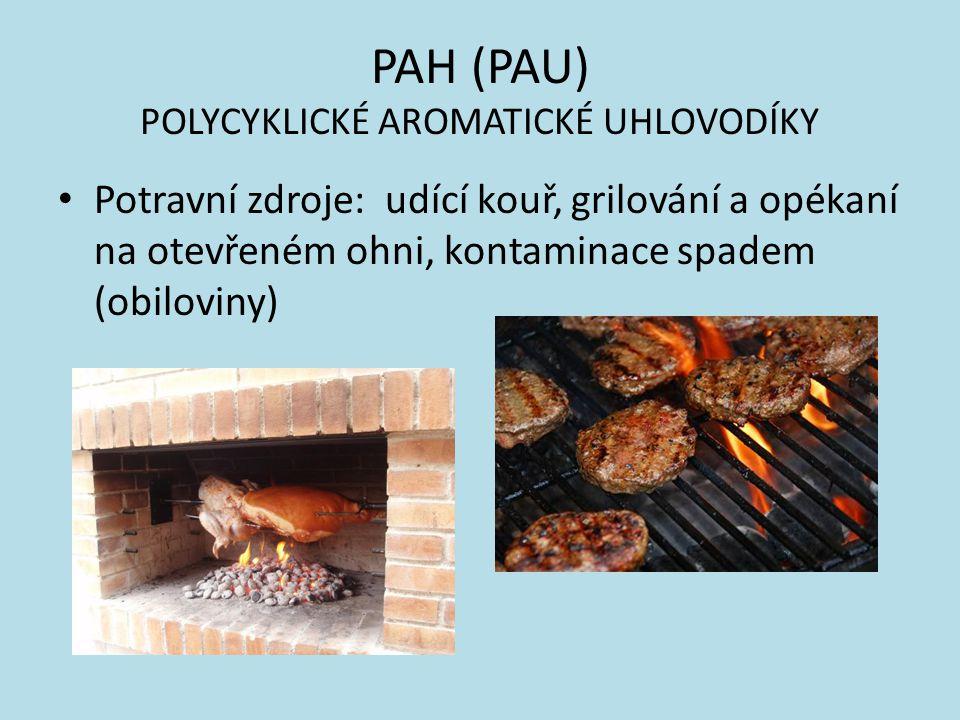 PAH (PAU) POLYCYKLICKÉ AROMATICKÉ UHLOVODÍKY