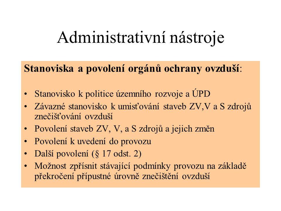 Administrativní nástroje