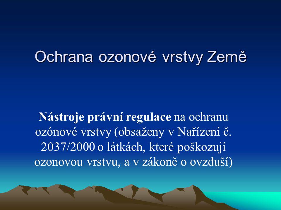 Ochrana ozonové vrstvy Země