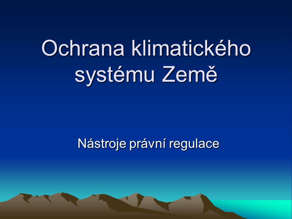 Ochrana klimatického systému Země