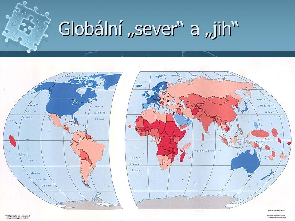"""Globální """"sever a """"jih"""