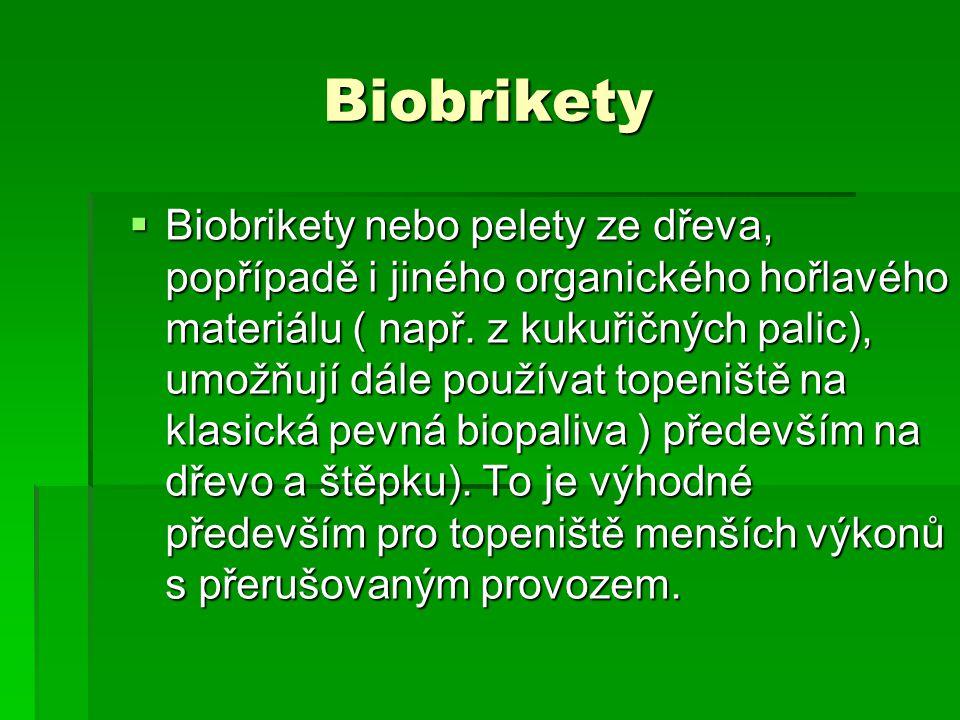 Biobrikety