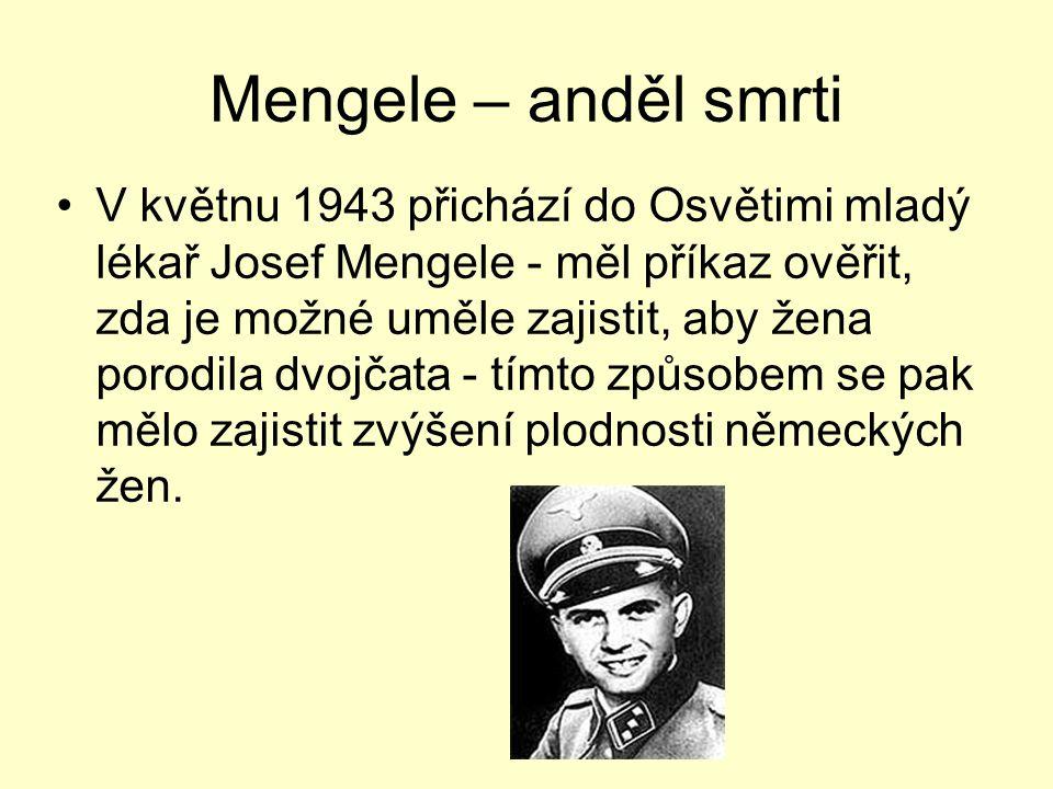 Mengele – anděl smrti