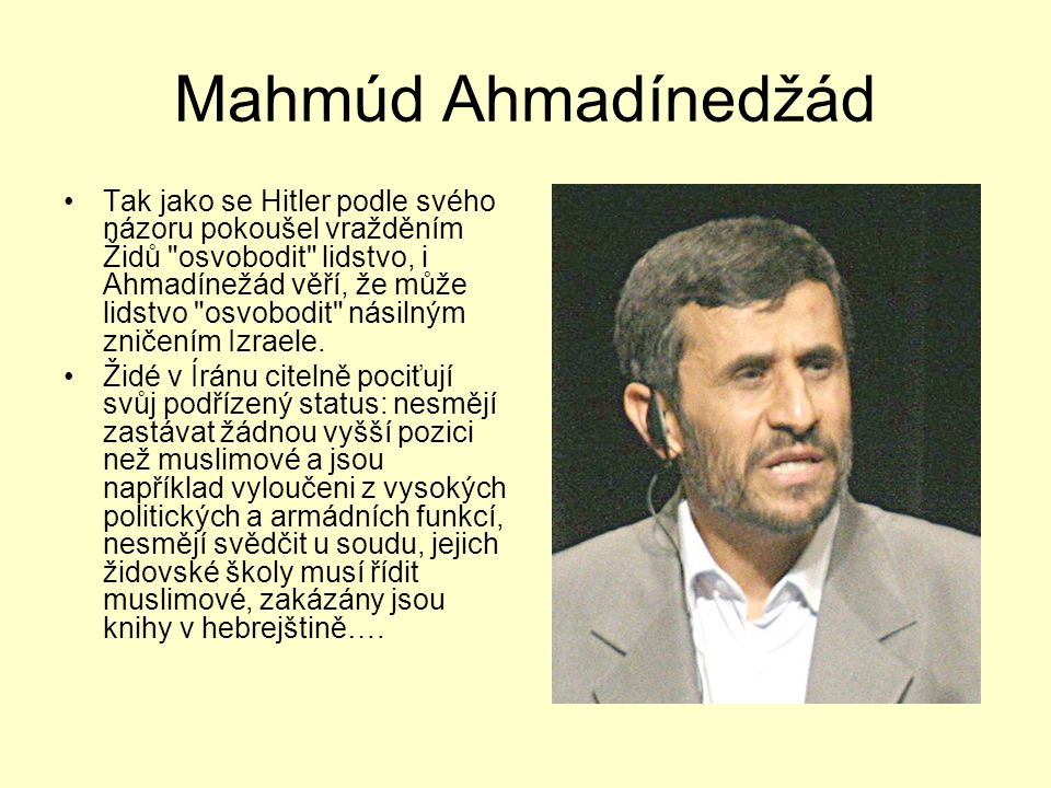 Mahmúd Ahmadínedžád