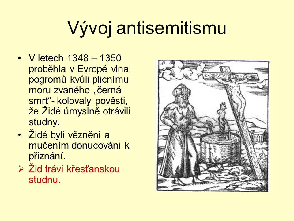 Vývoj antisemitismu