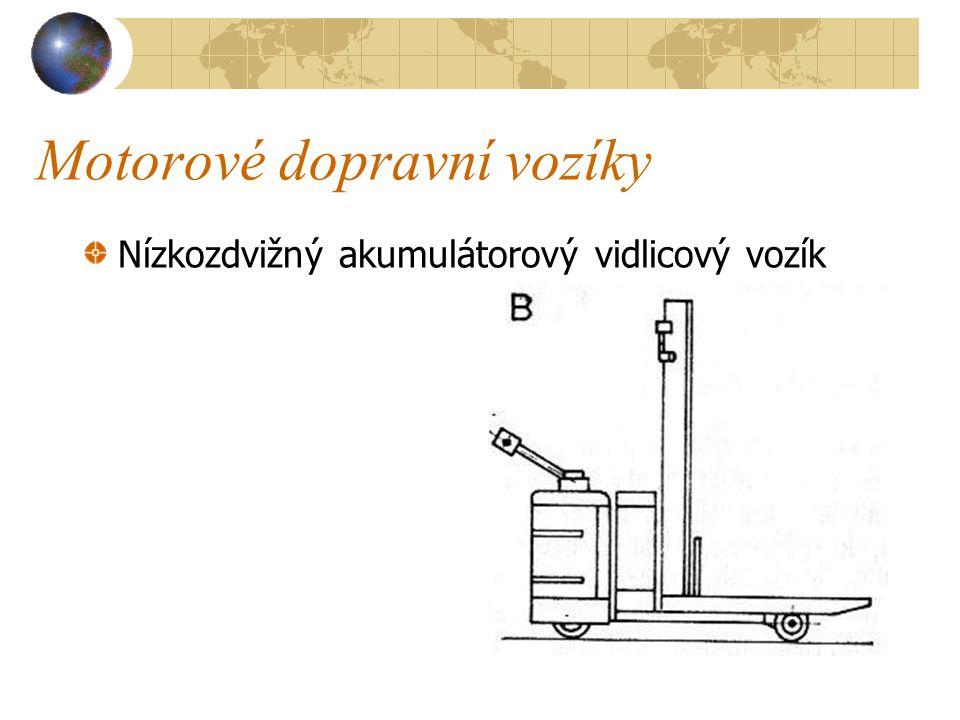 Motorové dopravní vozíky