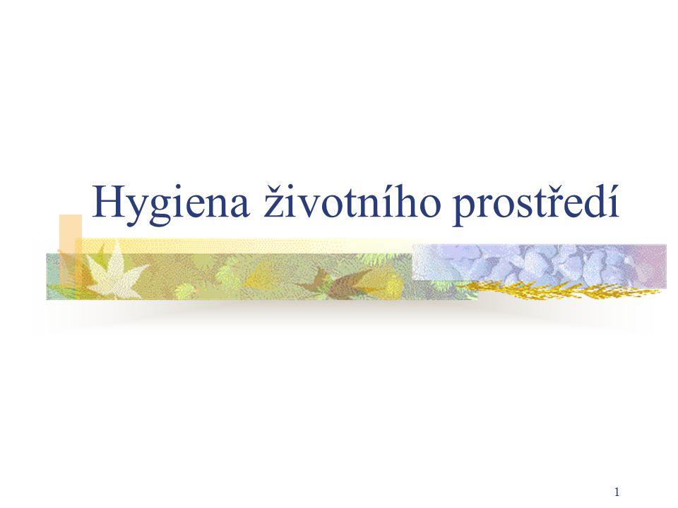 Hygiena životního prostředí