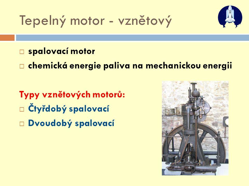 Tepelný motor - vznětový