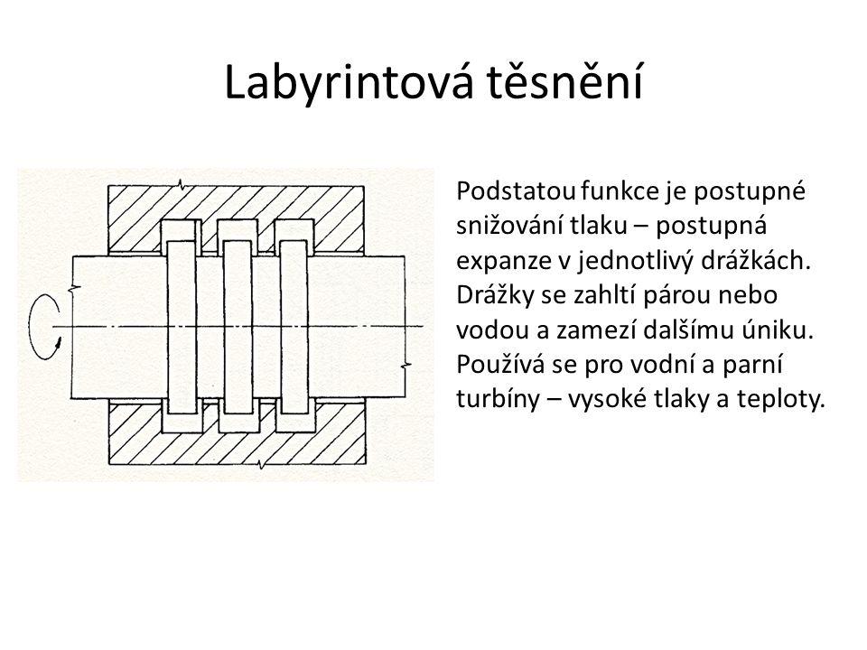 Labyrintová těsnění