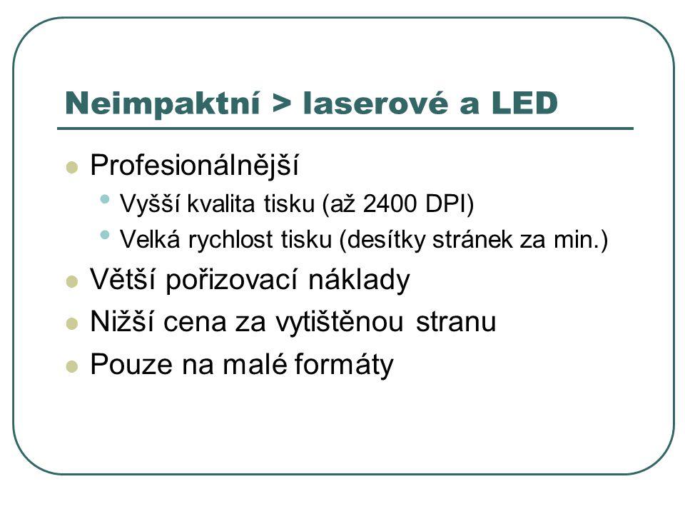 Neimpaktní > laserové a LED