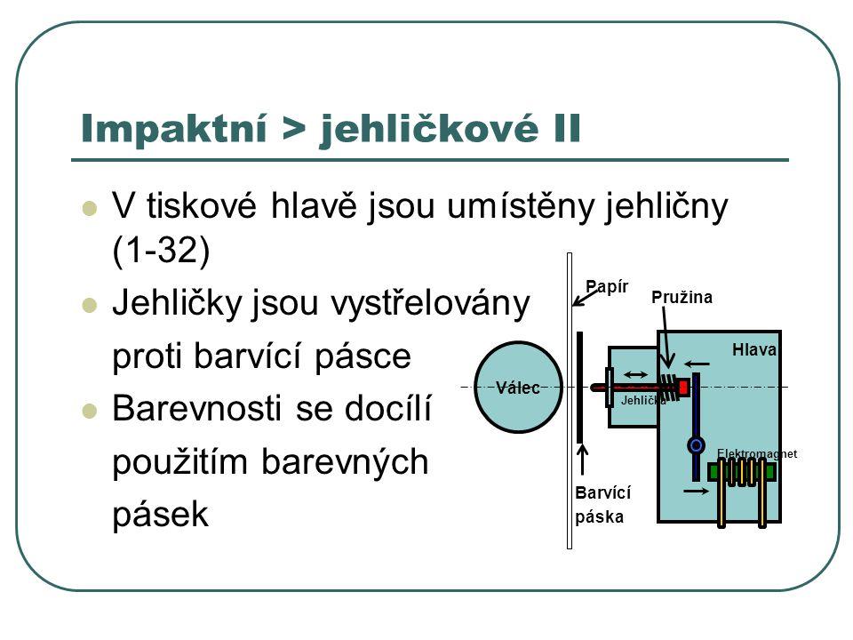 Impaktní > jehličkové II