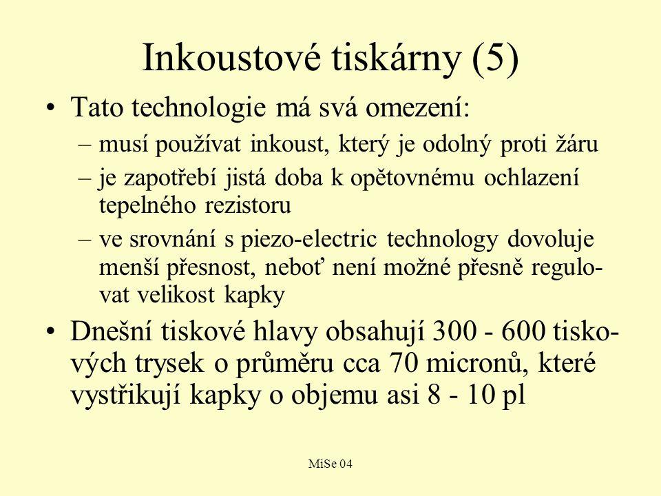 Inkoustové tiskárny (5)
