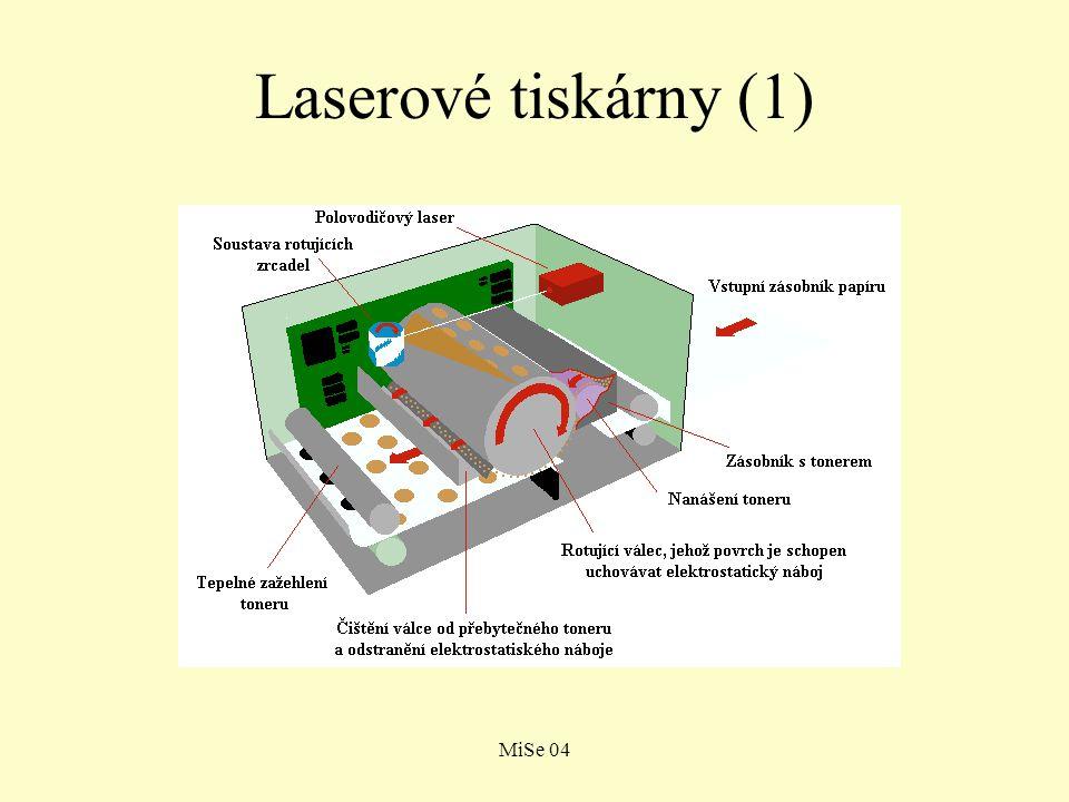 Laserové tiskárny (1) MiSe 04