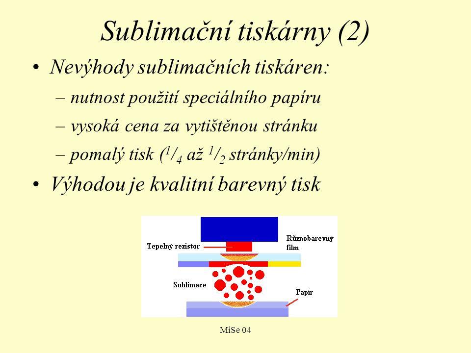 Sublimační tiskárny (2)