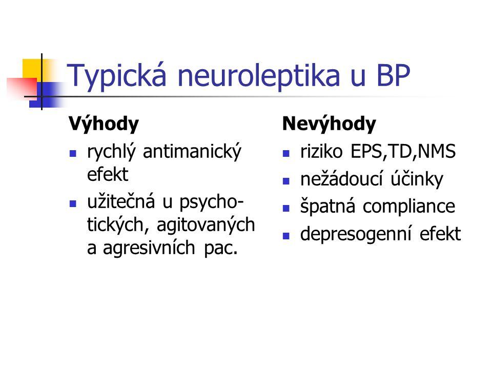 Typická neuroleptika u BP