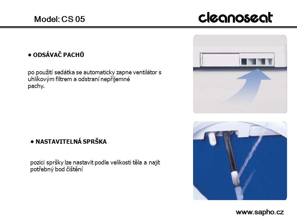 Model: CS 05 www.sapho.cz • ODSÁVAČ PACHŮ