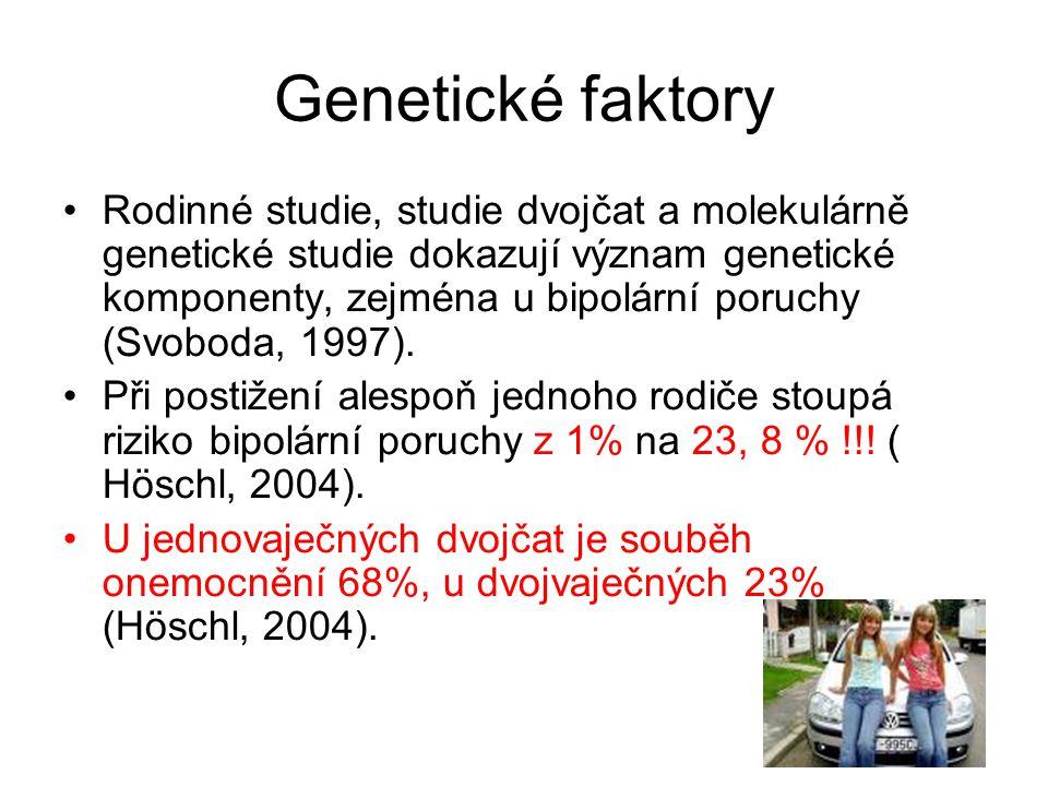 Genetické faktory