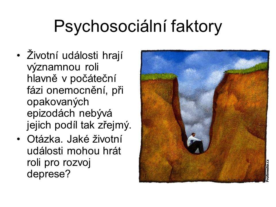 Psychosociální faktory