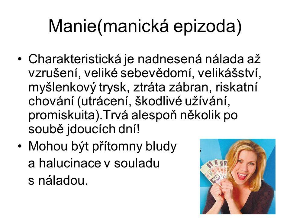 Manie(manická epizoda)