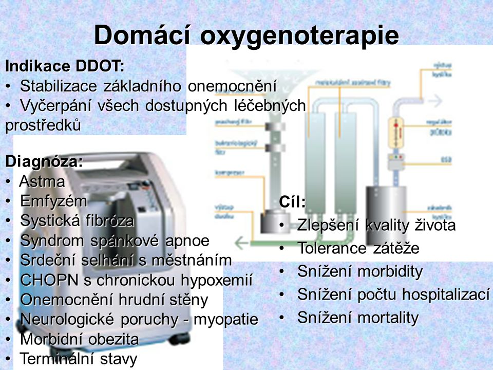 Domácí oxygenoterapie