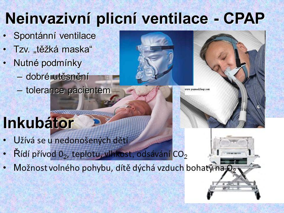 Neinvazivní plicní ventilace - CPAP