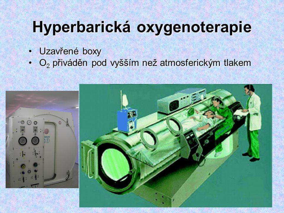 Hyperbarická oxygenoterapie
