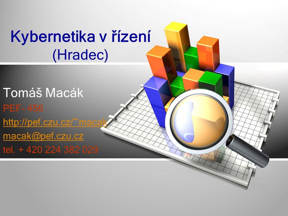Kybernetika v řízení (Hradec)