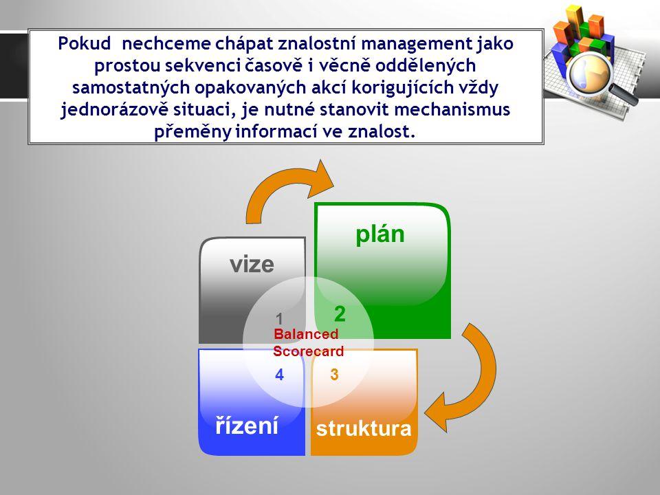 plán vize řízení struktura 2
