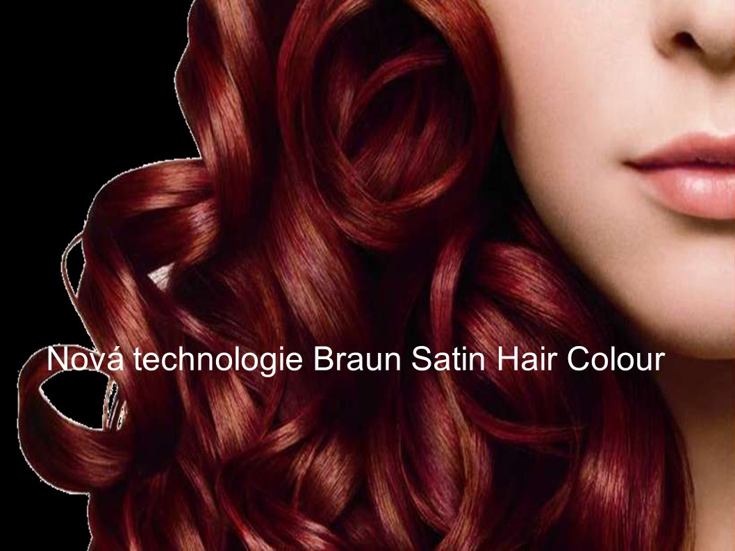 Nová technologie Braun Satin Hair Colour