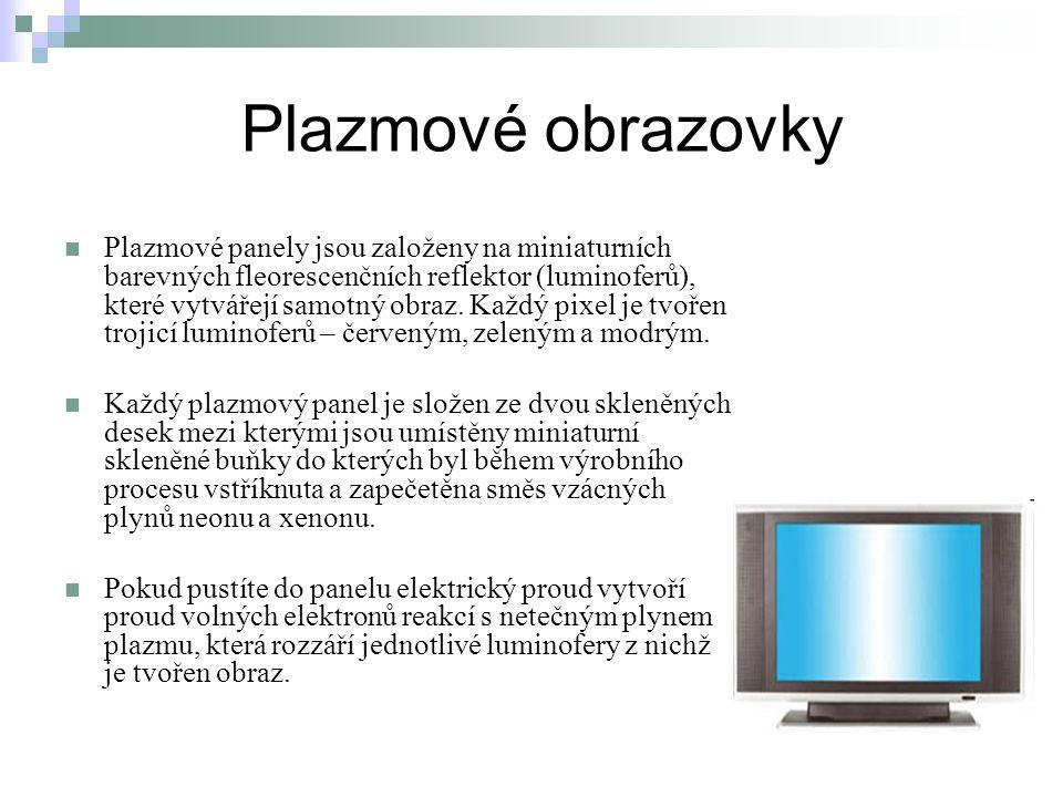 Plazmové obrazovky