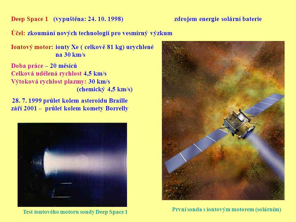 září 2001 – průlet kolem komety Borrelly