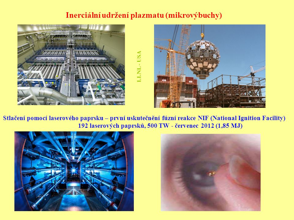 Inerciální udržení plazmatu (mikrovýbuchy)