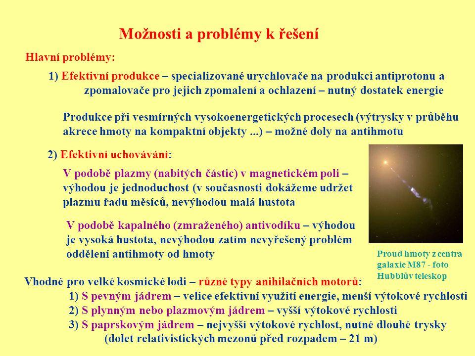 Možnosti a problémy k řešení