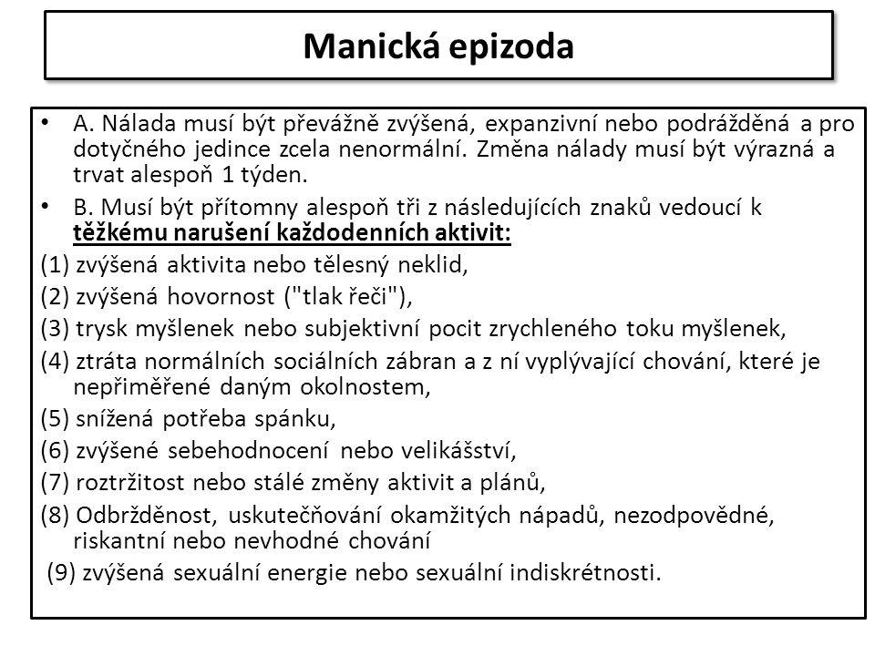 Manická epizoda