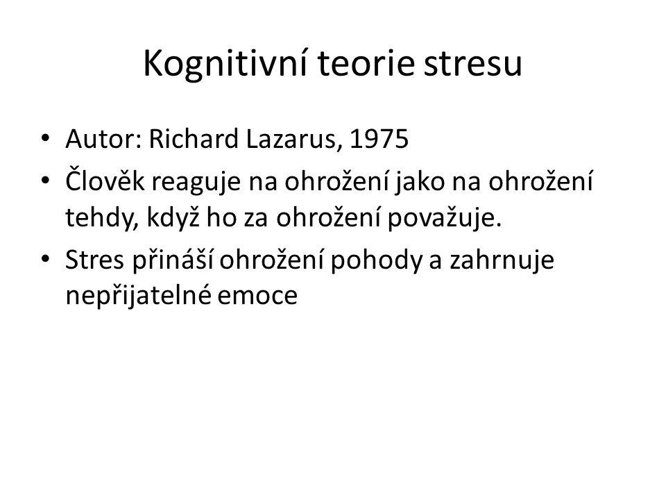 Kognitivní teorie stresu