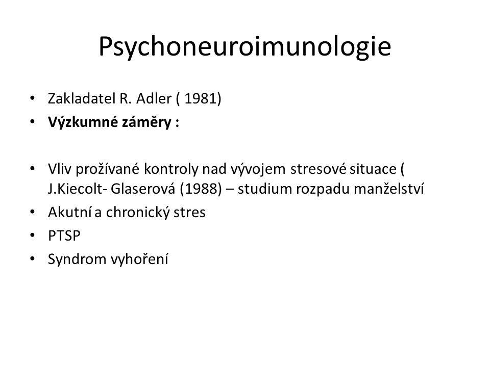 Psychoneuroimunologie