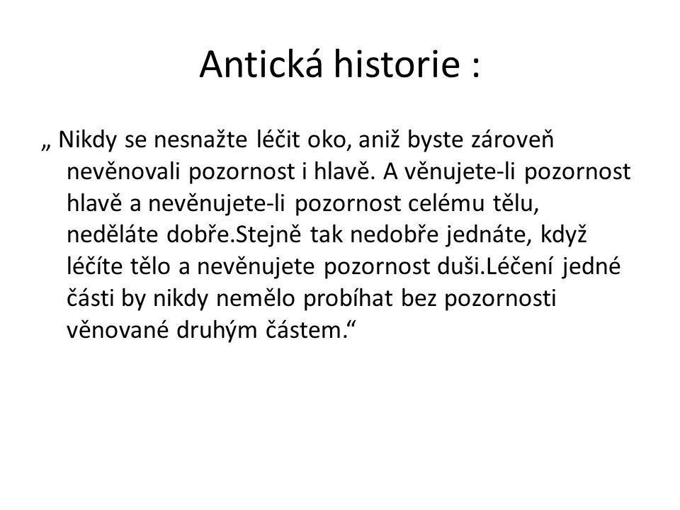 Antická historie :