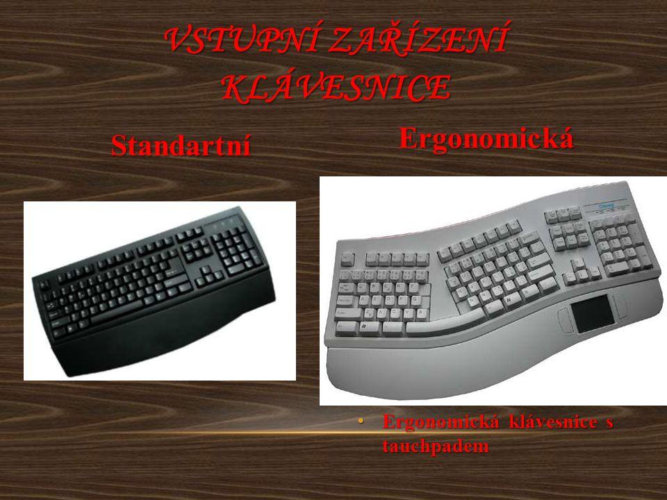 Vstupní zařízení klávesnice