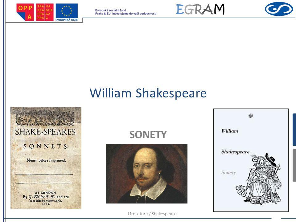 Literatura / Shakespeare