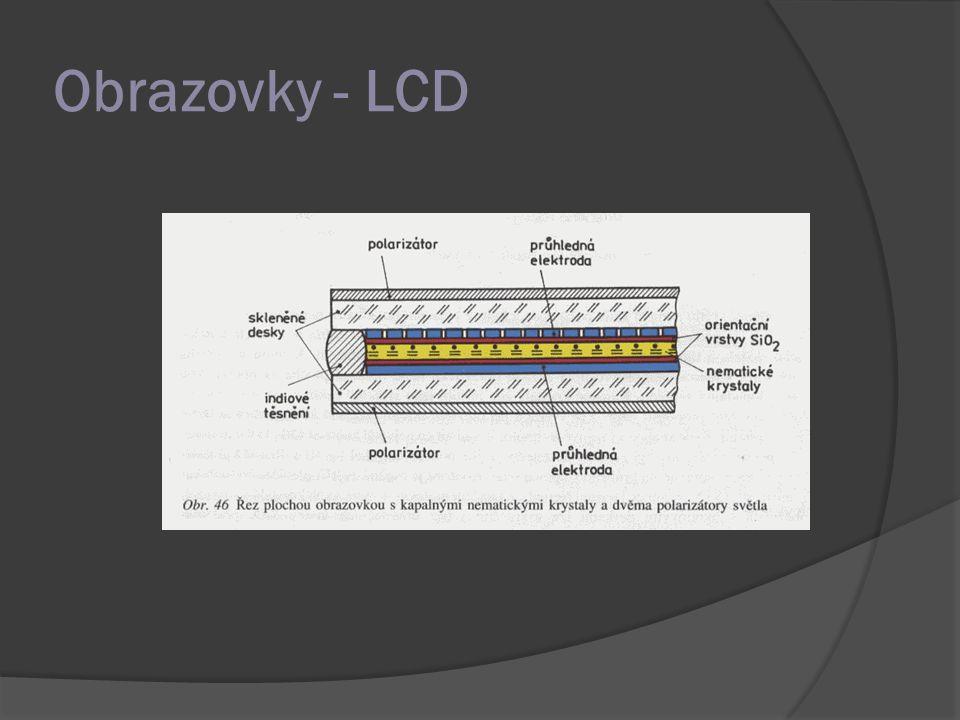 Obrazovky - LCD