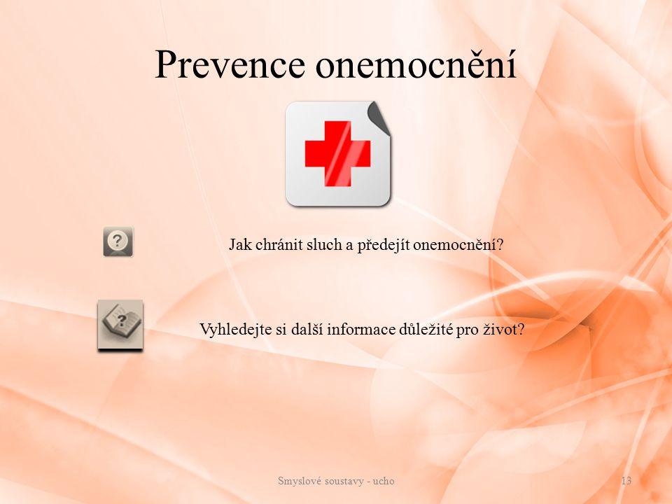 Prevence onemocnění Jak chránit sluch a předejít onemocnění
