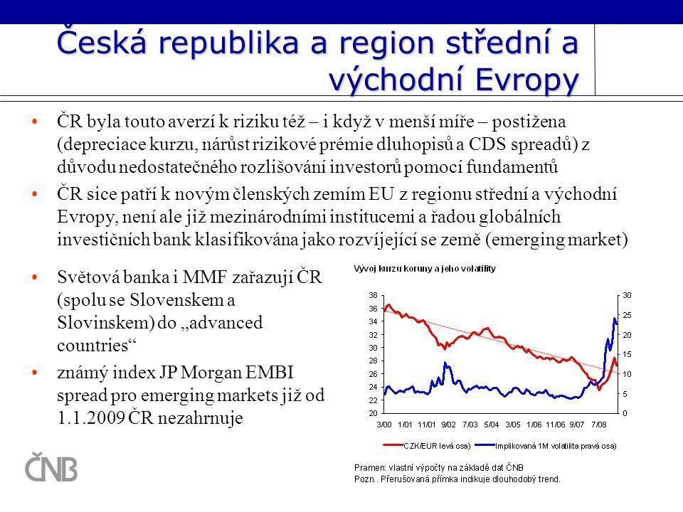 Česká republika a region střední a východní Evropy