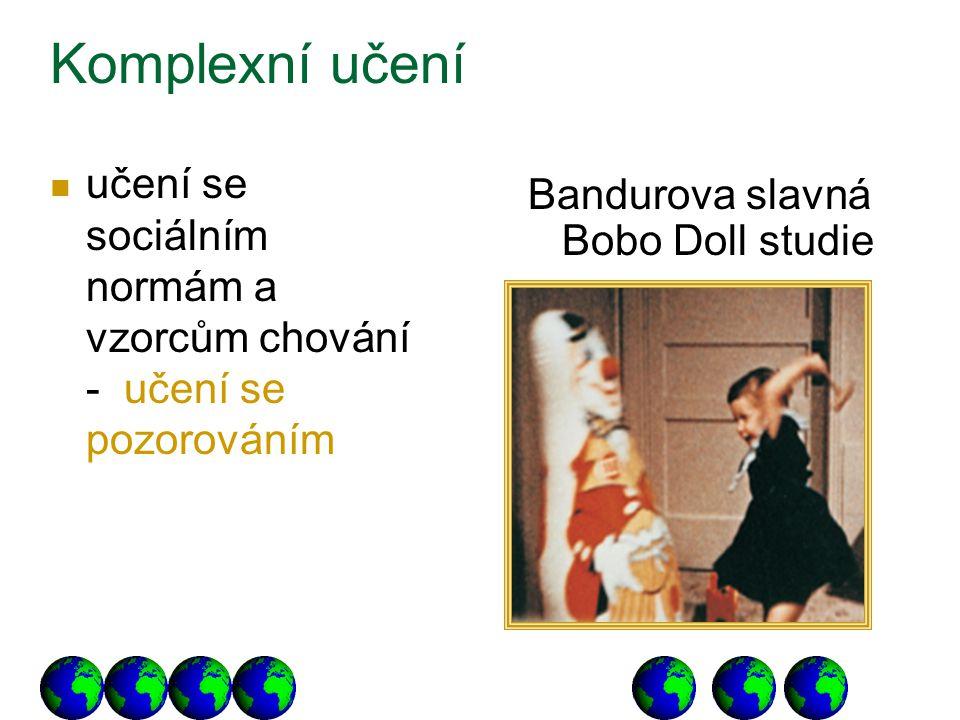 Bandurova slavná Bobo Doll studie