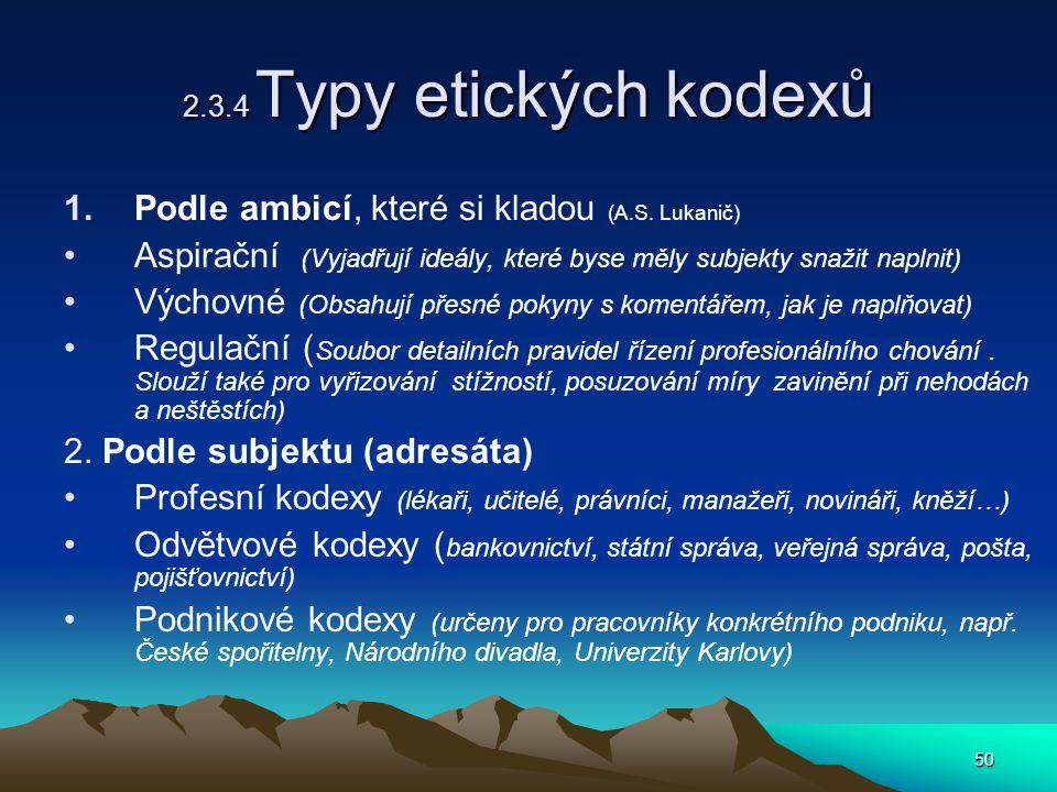 Podle ambicí, které si kladou (A.S. Lukanič)