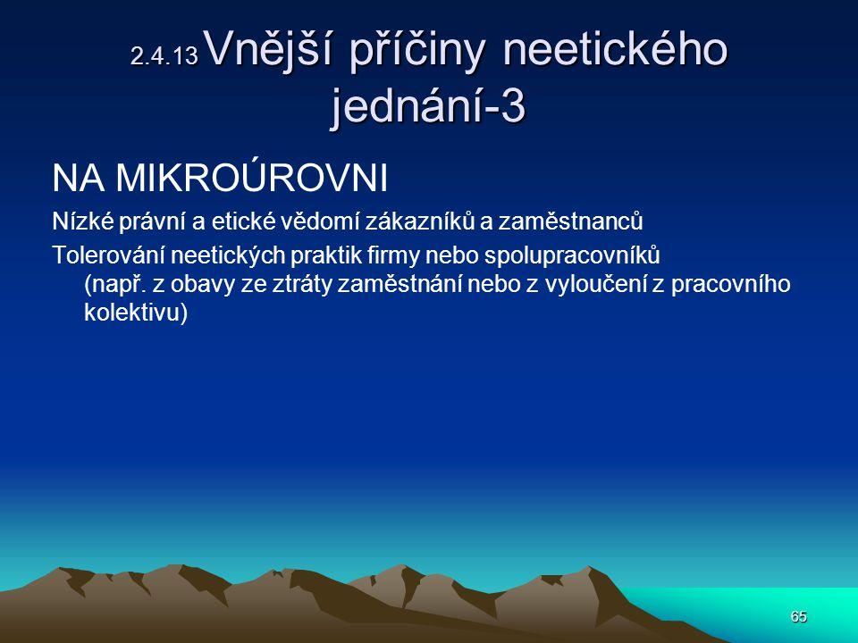 2.4.13 Vnější příčiny neetického jednání-3